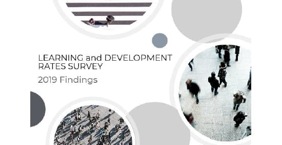 Learning and Development Rates Survey 2019 Findings