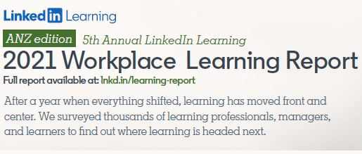 2021 Workplace Learning Report ANZ